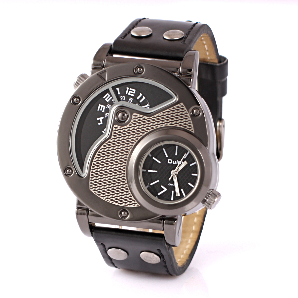 oulm sport stainless steel military mens watches analog quartz oulm sport stainless steel military mens watches analog quartz army wrist watch