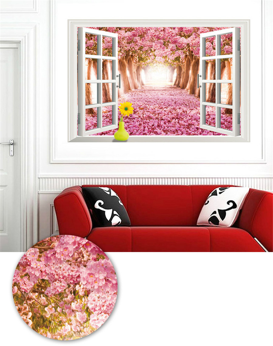 28 cherry blossom wall art stickers news wall stickers large cherry blossom 3d window wall sticker art vinyl