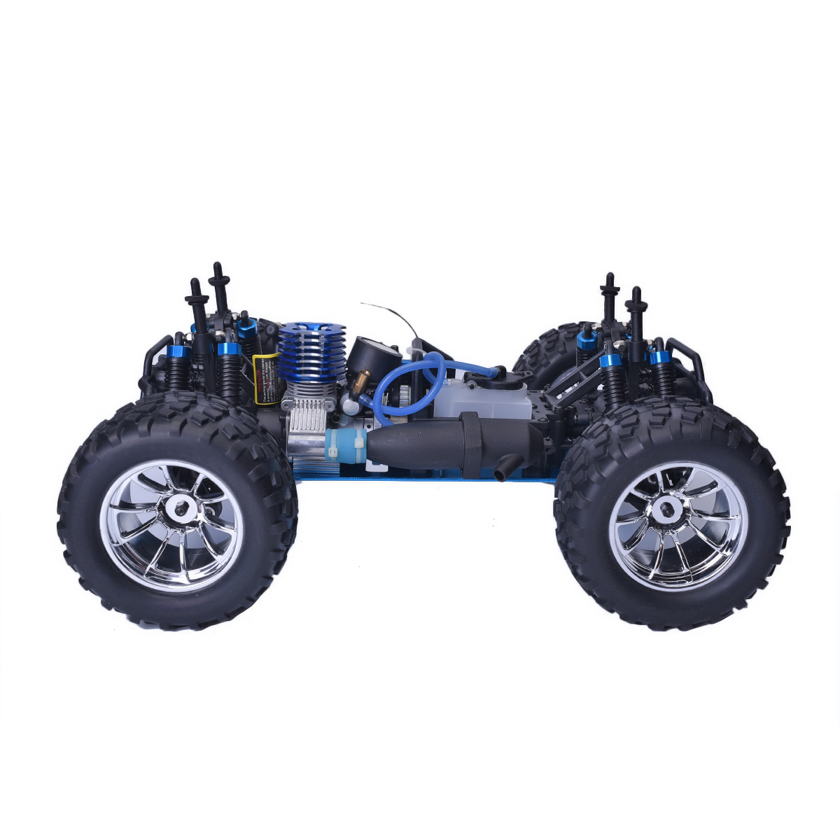 Hsp Rc Truck Nitro Gas Power Off Road Monster Truck 94188: HSP 94188 1/10 Scale RC Car Off Road 2.4G 4WD Monster