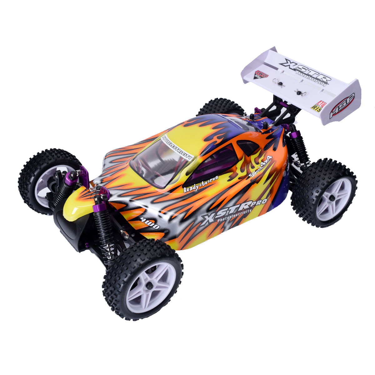 high speed 4wd rc car 1 10 scale models electric power off. Black Bedroom Furniture Sets. Home Design Ideas