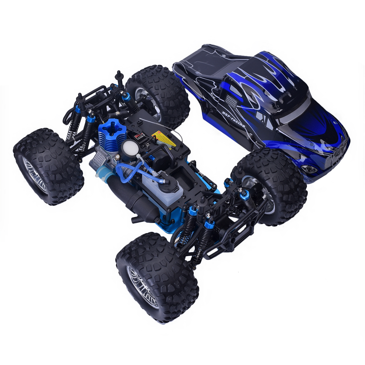 Hsp 94188 1 10 Scale Rc Car Off Road 2 4g 4wd Monster