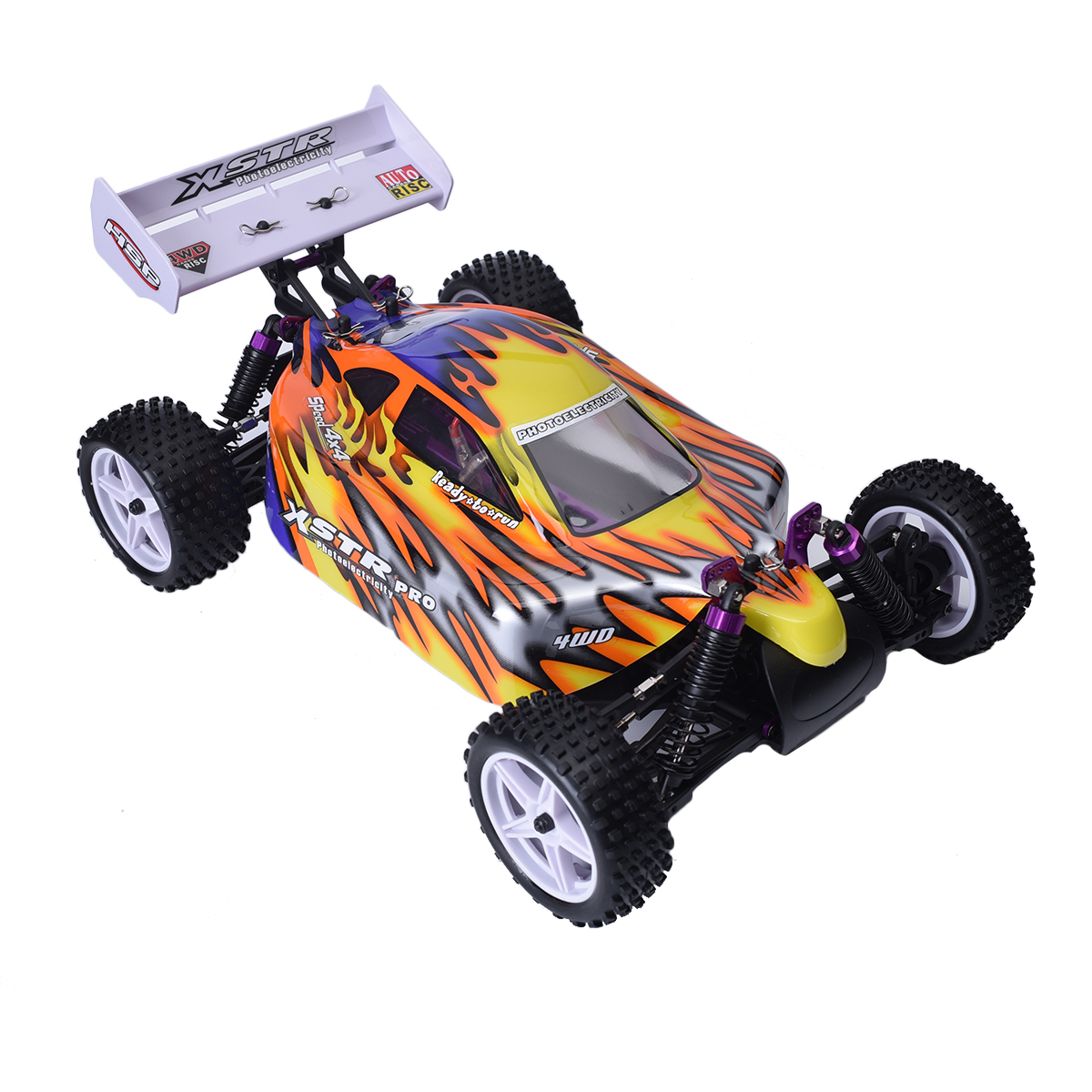 Hsp 1 10 scale rc buggy 94107 electric 2 4ghz 4wd off road for Rc electric motor oil