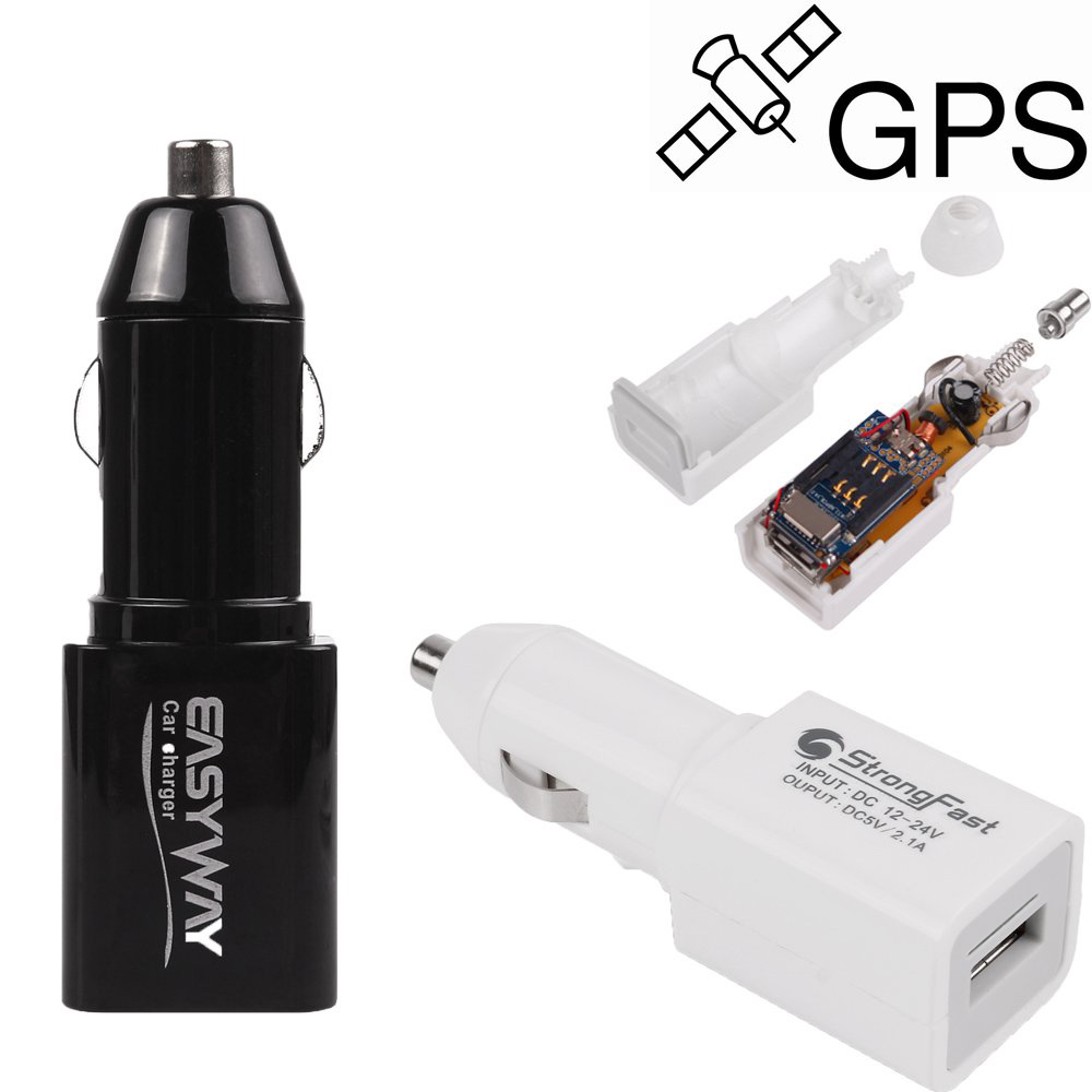 SPY Car GSM GPRS GPS Tracker Hidden Vehicle Locator Anti