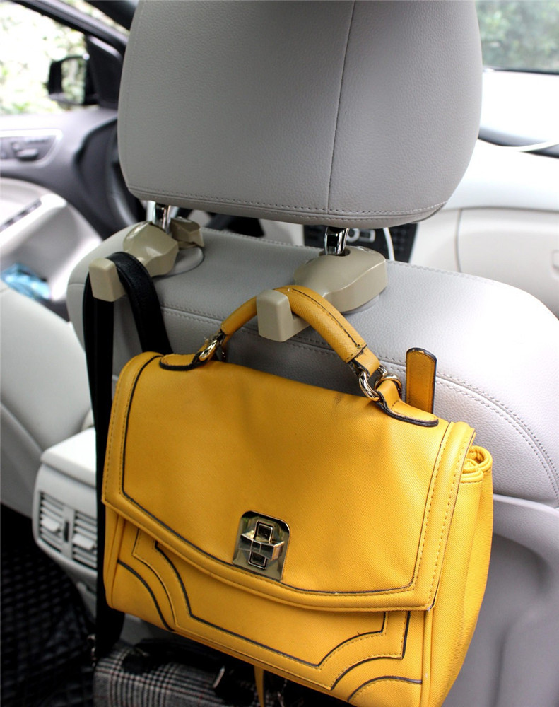 Car Back Seat Headrest Hanger Holder Hook Bag Purse Cloth