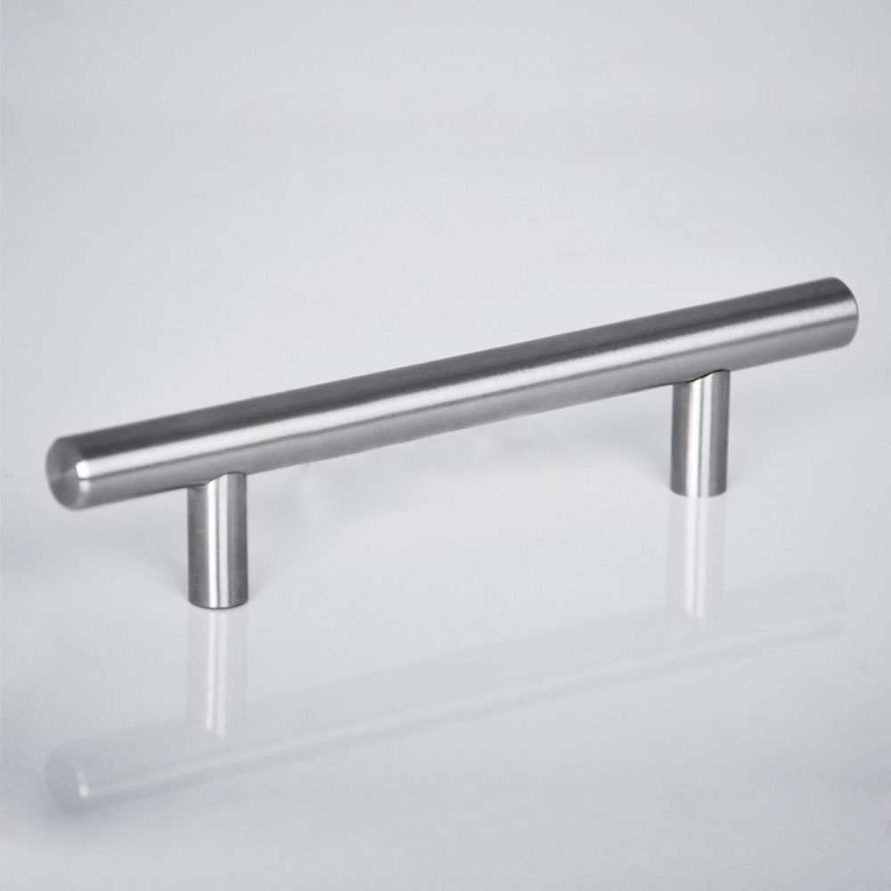 2 18 kitchen cabinet t bar pulls handles knobs hardware for Kitchen cabinet hardware
