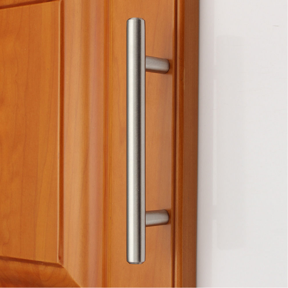 "Kitchen Cabinet Pull Handles: 2-18"" Solid Stainless Steel Kitchen Cabinet Handles Pulls"