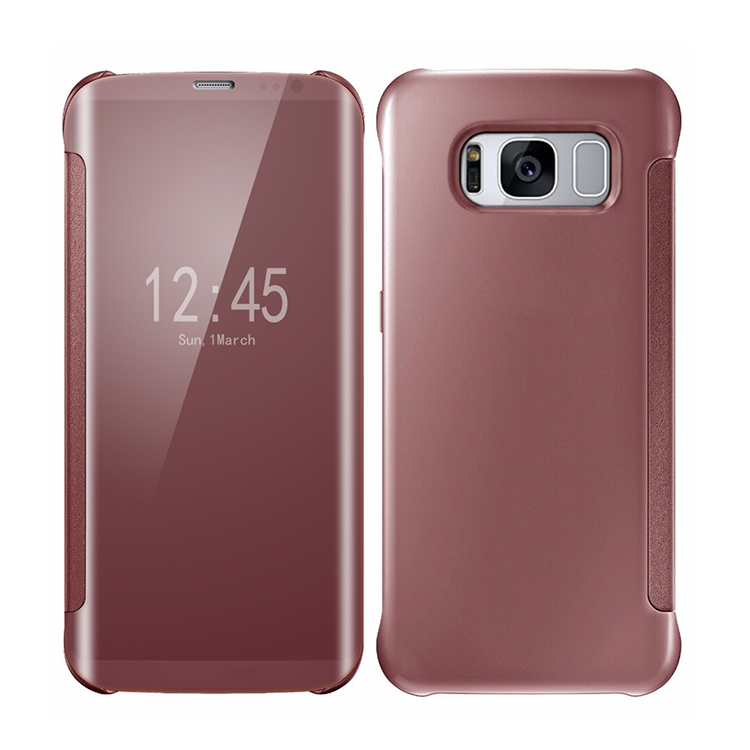housse coque etui flip cover transparent samsung galaxy
