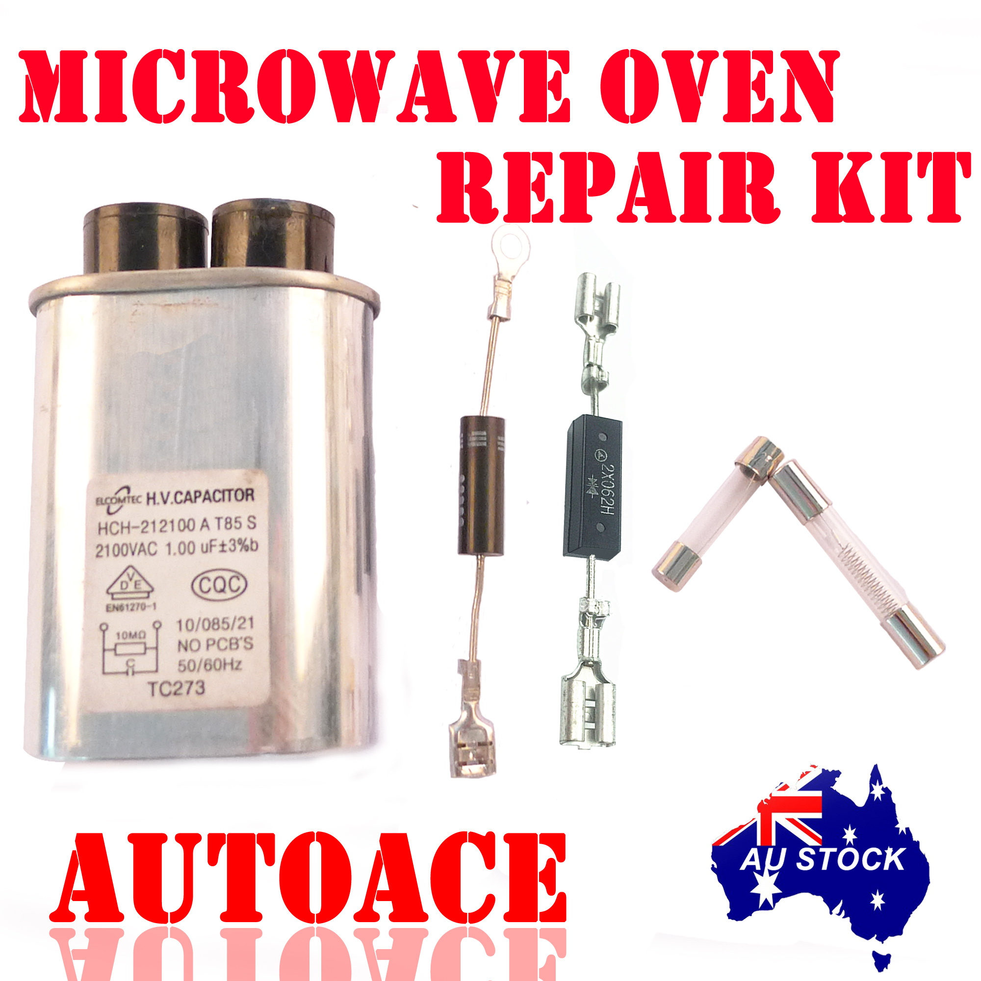 microwave oven repair kit for galanz midea panasoniclg. Black Bedroom Furniture Sets. Home Design Ideas