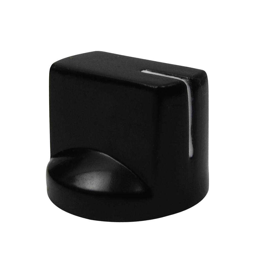 new 24pcs amp knobs guitar effect pedal knobs black flat pointer knobs plastic ebay. Black Bedroom Furniture Sets. Home Design Ideas