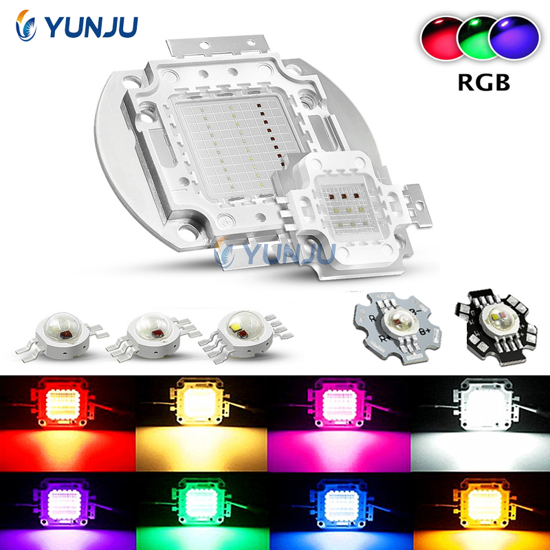 30W RGBW 4 Channel LED 30 Watt Red Green Blue RGB White 16-chip Light