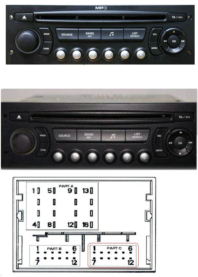 yatour digital cd changer for peugeot citroen rd4 rt3 can bus aux sd rh ebay com au citroen rd4 radio manual citroen rd4 radio manual