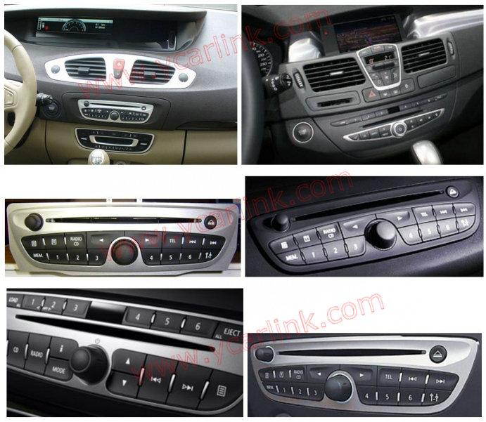 Yatour Bluetooth Adapter For Renault VDO/Blaupunkt