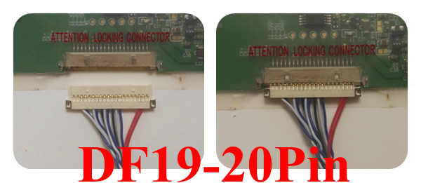 HDMI DVI VGA LCD Controller Board For B133EW01 V0 B133EW01 V3 20Pins LCD Screen