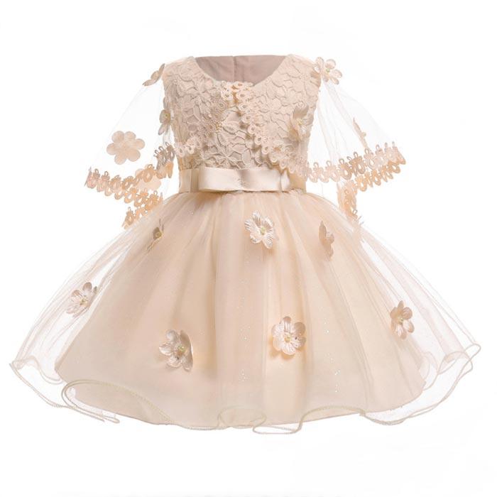 SALE Kids Girls Flower Princess Sleeveless Dress Formal Party Wedding Bridesmaid