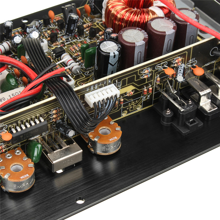 12v 1000w Car Audio Amplifier Board Good Sound Quality Black Circuit With Explanation Electronic Circuits Current Overload Short Thermal Dc Offset Mono 1000 Watts Gives You A Wonderful In Entertainment
