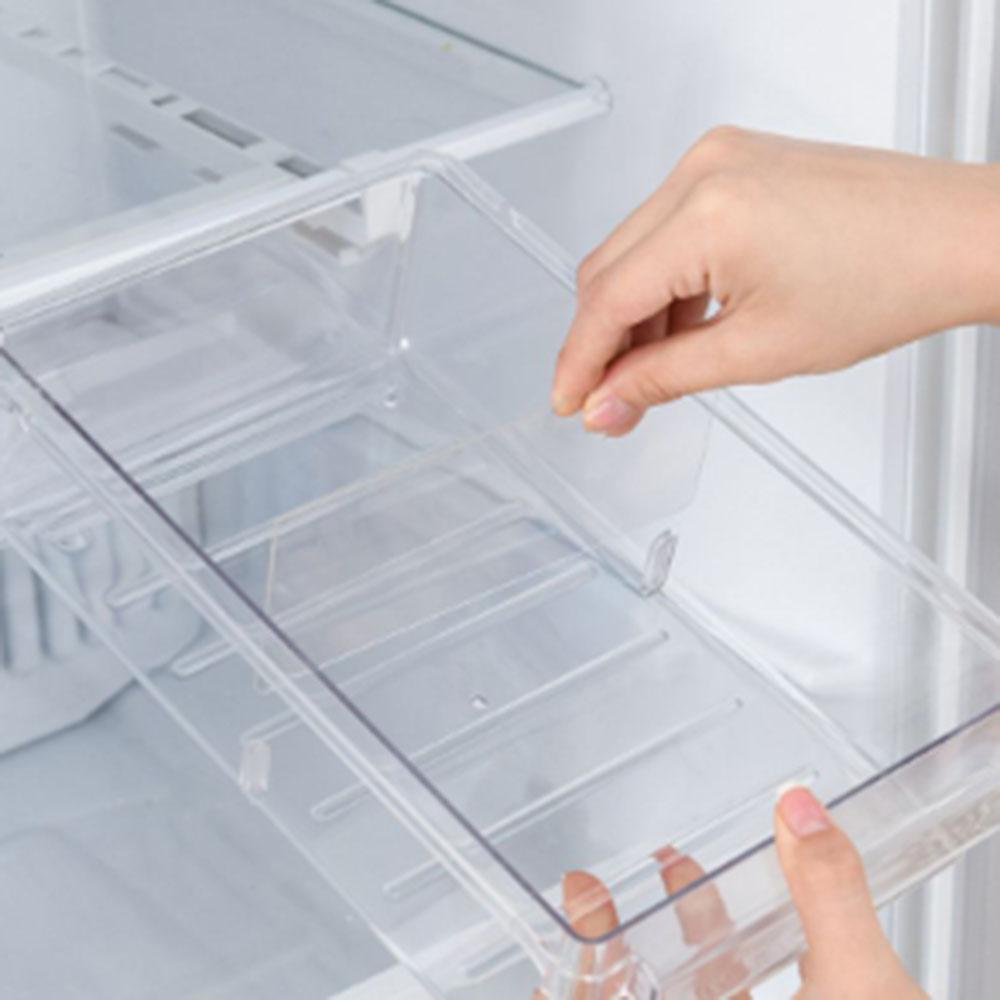Kreative KüHlschrank Aufbewahrungsbox Frische Spacer Schicht Lagerregal L4H7 5X