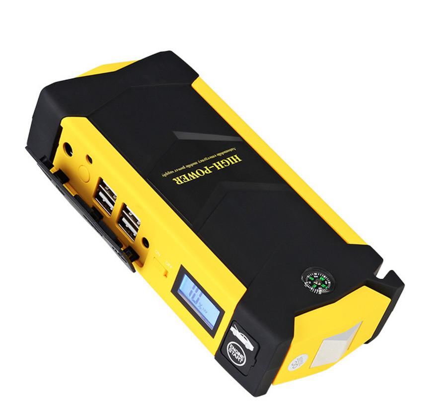 vehicle car booster start jumper battery 82800mah rate diesel power bank 8led ebay. Black Bedroom Furniture Sets. Home Design Ideas