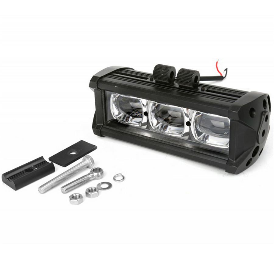 7inch 30W CREE LED Work Light Bar Spot Driving Fog Lamp Offroad 4WD 8D ATV IP68