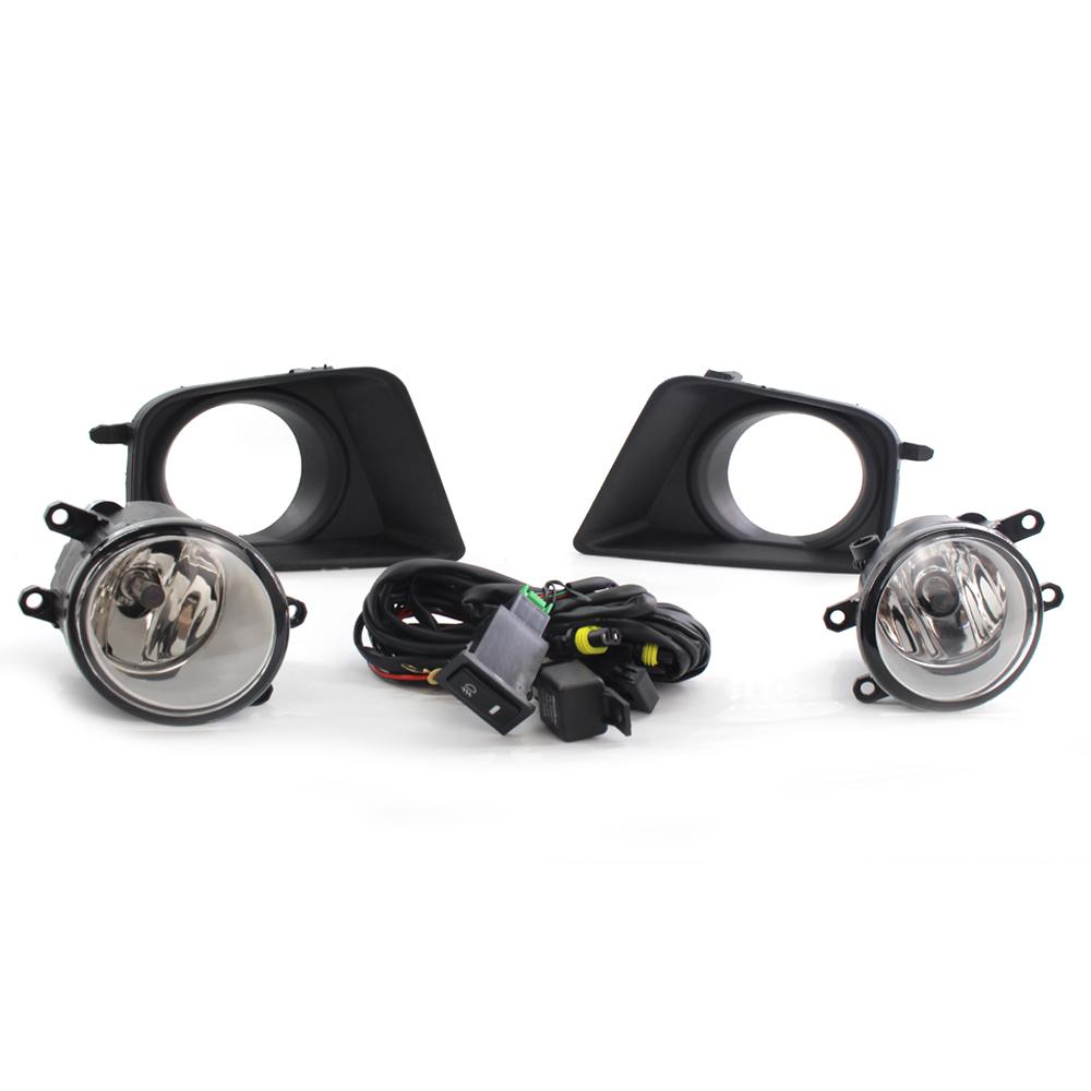 Clear Fog Light Kit For 2012  Black