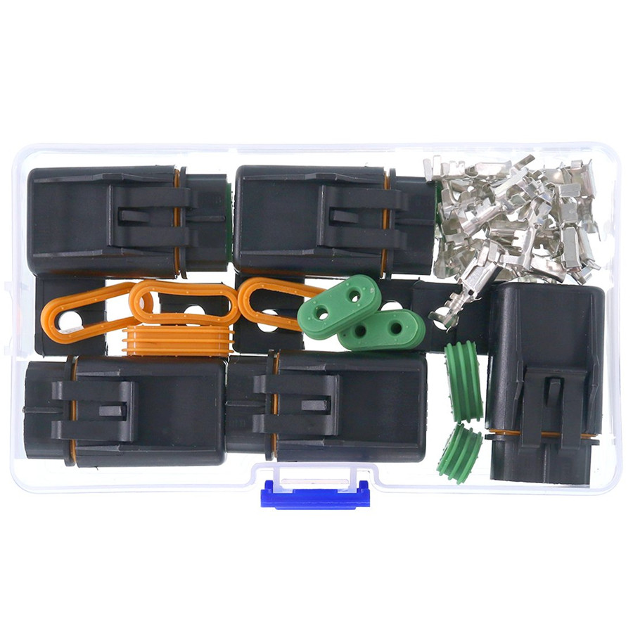 5x 2 5cm Plastic Fuse Holder Assembly Splice Existing Wire Kit For Ato Atc Fuses