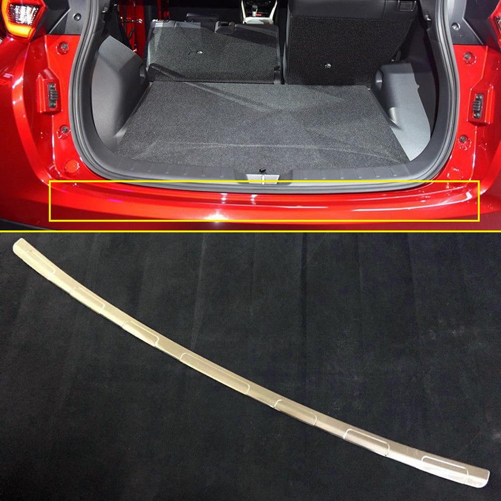 Carbon Fiber Rear Bumper Guard Sill Plate For Mitsubishi Eclipse Cross 2018