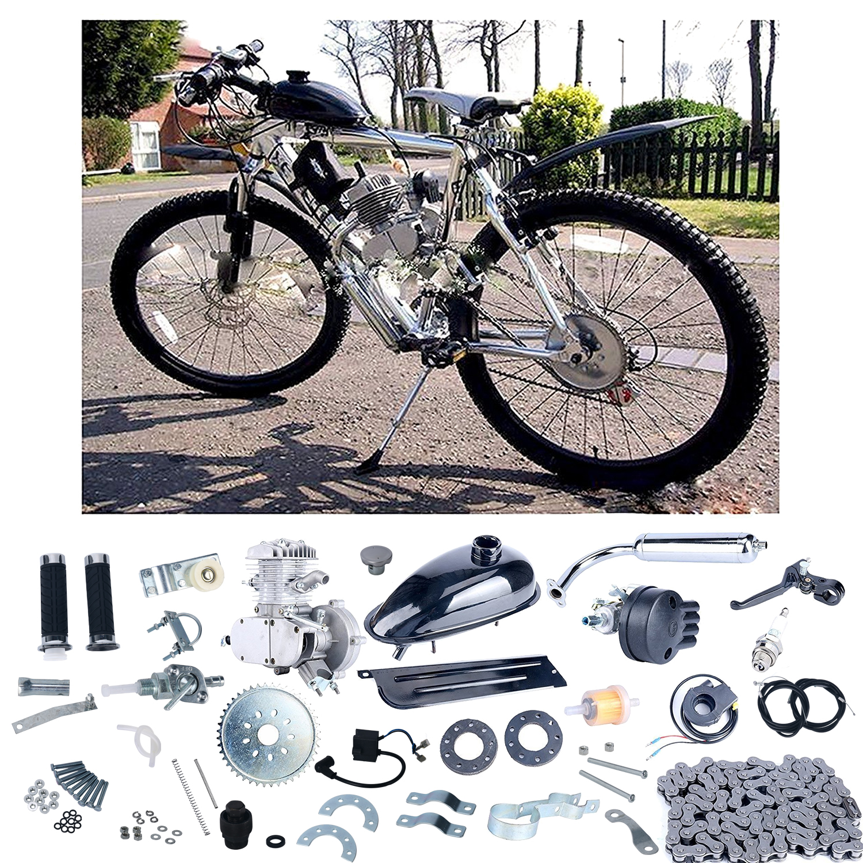 Push Bike Gear /& 2*Woodruff Key For 66cc 80cc Engine Motorized Bicycle