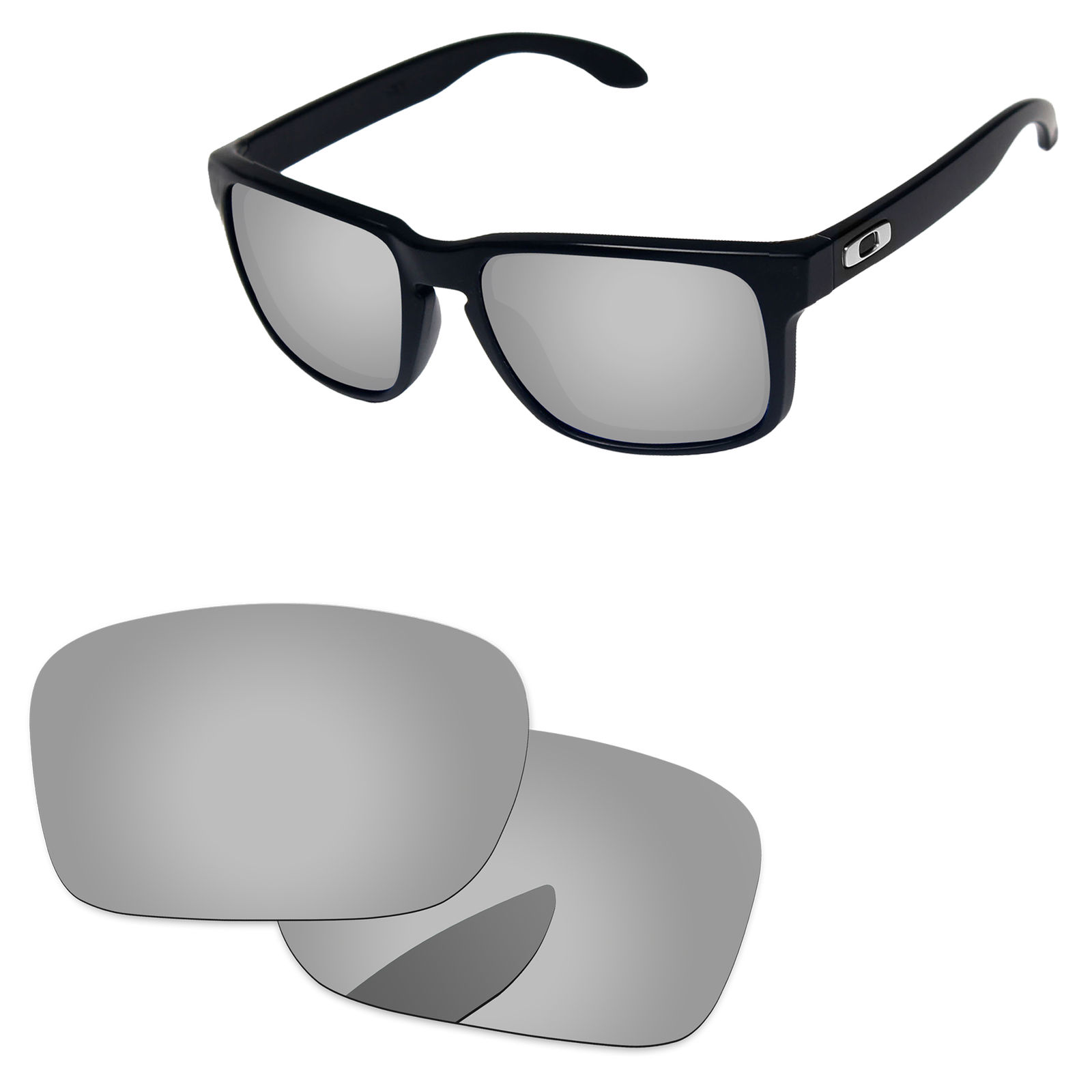 Style Switch sunglasses PolarLens POLARIZED Black Replacement Lens for