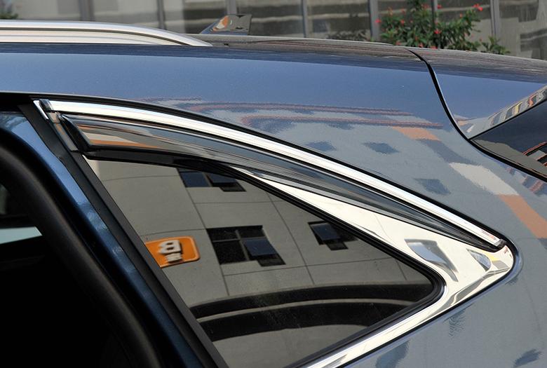 Fit For Ford Escape Kuga 2020-2021 Black Side Window Visor ...