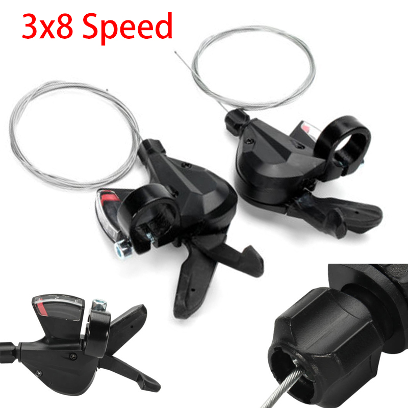 Lever Shifter 3x8 Speed Shift for Shimano Acera SL-M310 Bike Bicycle Parts