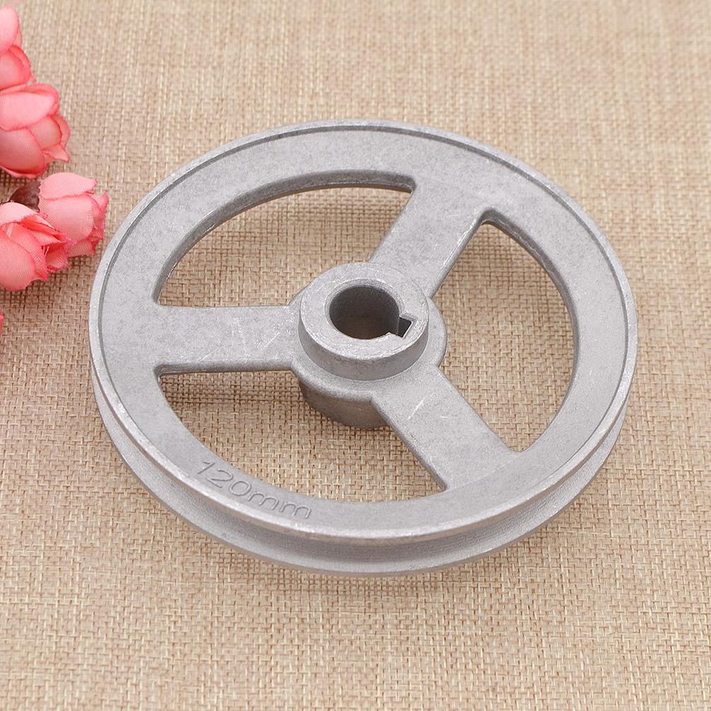 120mm Nähmaschine Riemenscheibe Zubehör Industrial Sewing Machine Pulley Neu