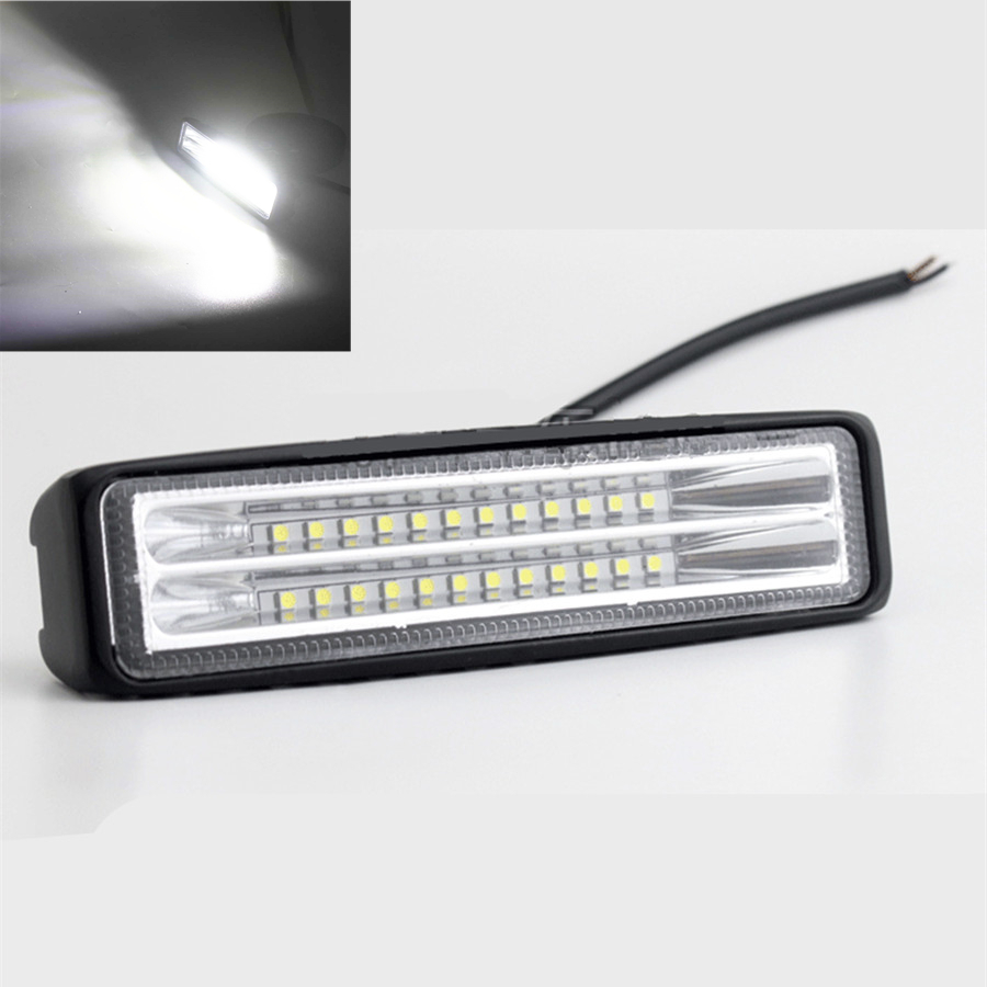Work Light Bar LED Lamp 12-72W FOR Offroad MOTORCYCLE 4WD SUV ATV TRUCK CAR BOAT