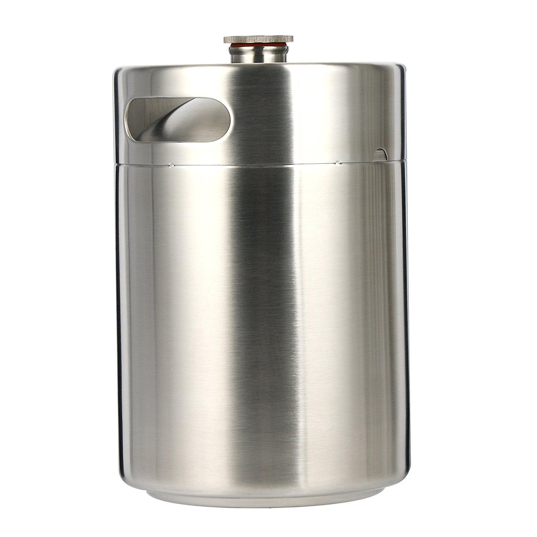 Yaebrew 5l 170oz Stainless Steel Keg System Kit Home Brew