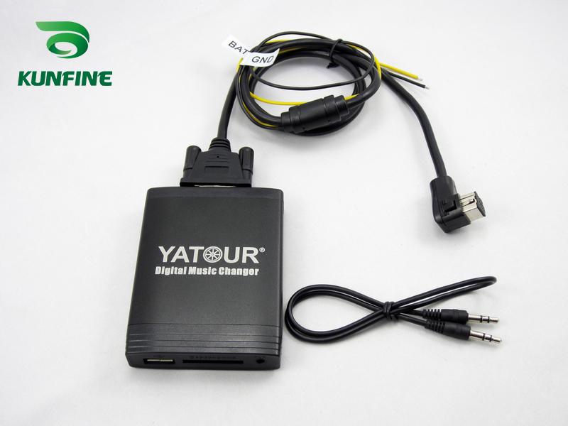 USB SD AUX MP3 Adaptador para coches de coche Pioneer DEH MEH con bus IP KEH