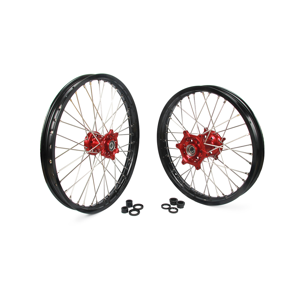 21 u0026quot  u002618 u0026quot  wheels set rims hubs spokes for honda cr125r