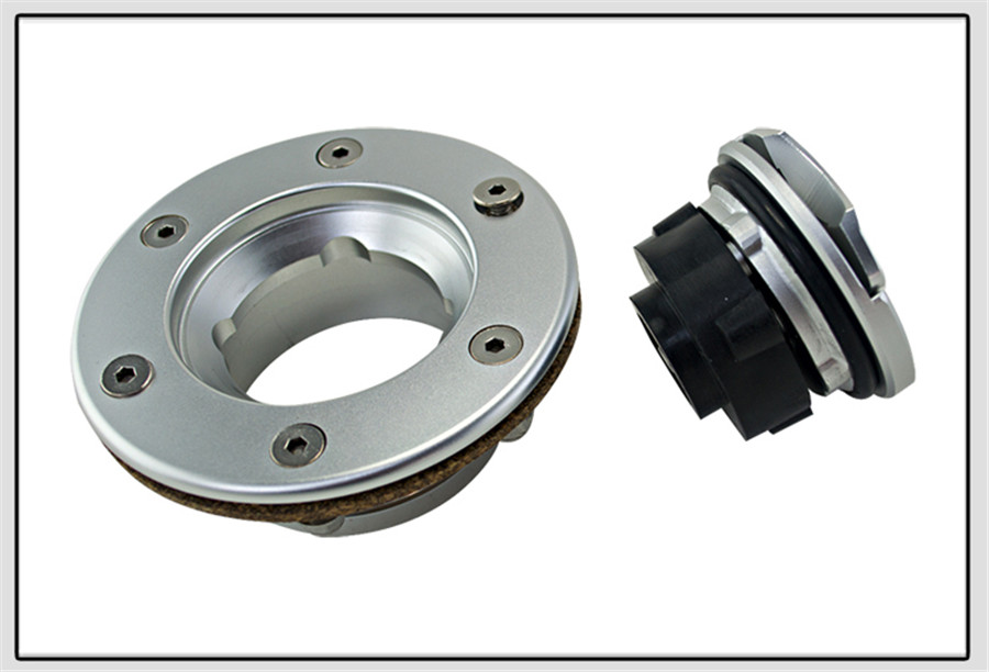 Billet Easy Fill Fuel Cell Gas Cap With 6 Hole Cell Bung