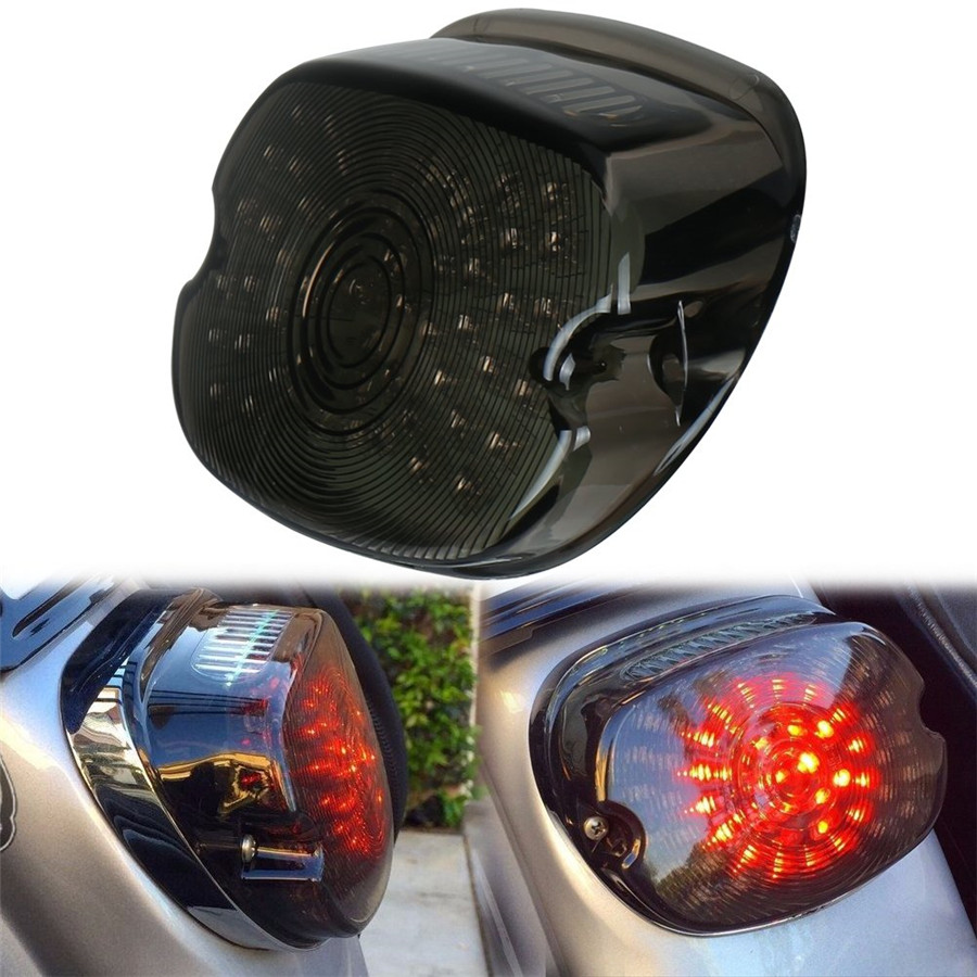 Details about Smoke Lens LED Tail Light ke Turn Signals For Tour Road on