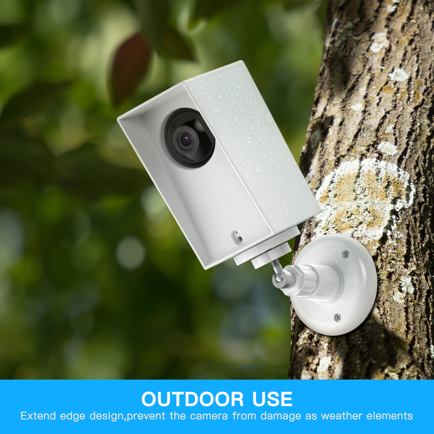 Details about Security Protection Bracket Wall UV Wyze 1080p Camera Cam  Cover Outdoor/ Indoor