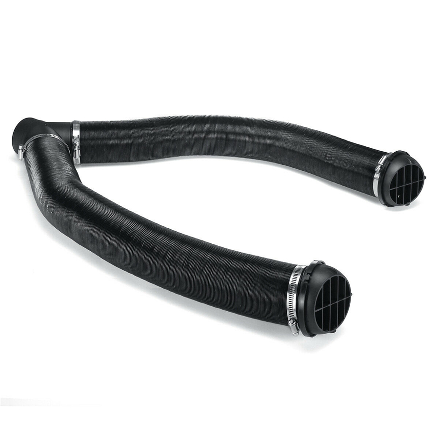 75mm Car Heater Pipe,Diesel Heater Pipe Ducting Warm Air Vent Outlet Kits OE:102114340000