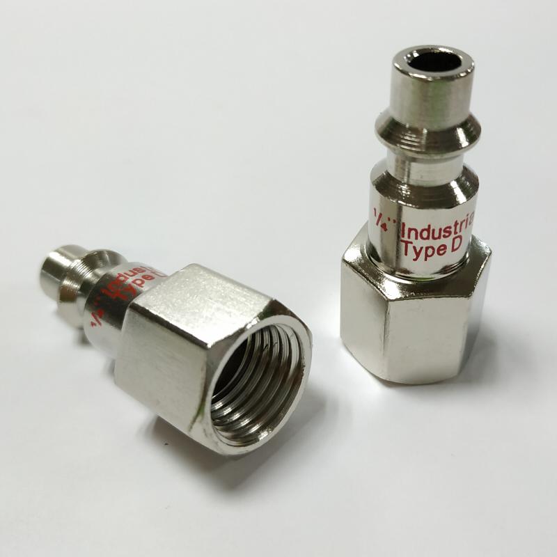 """Air Line Compressor 1//4/"""" NPT Stecker Luftschlauch Verbinder Schnellkupplung Neu"""