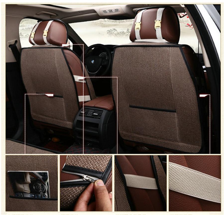 Black//Grey Full Set Front /& Rear Car Seat Covers for Renault Kangoo 09-12
