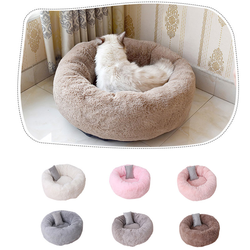 Awe Inspiring Details About Pet Sleeping Bed Warm Puppy Cat Sleeping Chair Round Shape Cat House Pets Bed Squirreltailoven Fun Painted Chair Ideas Images Squirreltailovenorg