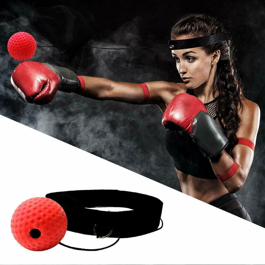 Boxing Reflex Fight Ball Speed Head Band Training Punch With Head Balls