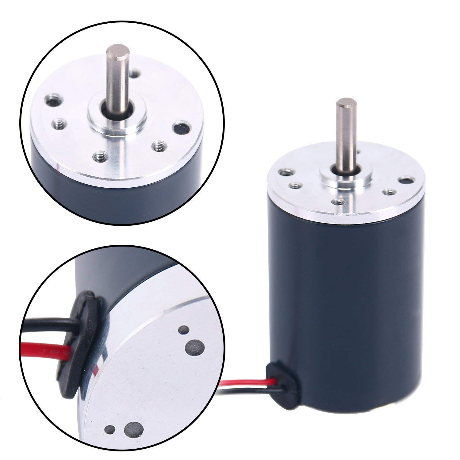 Details about 12V DC Brushed Electric Motor 38mm CCW Replacement Motor …  (3000RPM)