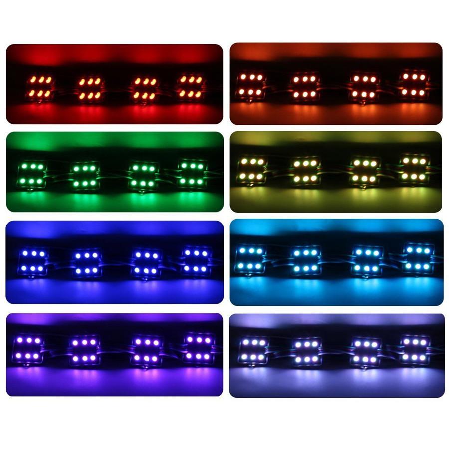 LED Unterboden Beleuchtung Set RGB Auto Kfz Wohnwagen