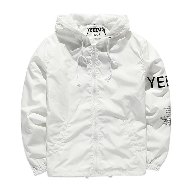cd2c06db5 Limited Edition Popular Yeezus Tour yzy Streetwear Windbreaker Thin ...