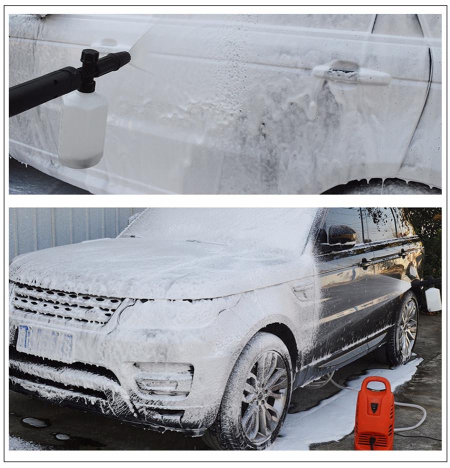 Pressure Snow Foam Washer Jet 0.7L Capacity High Pressure Washer 160bar// 2320psi