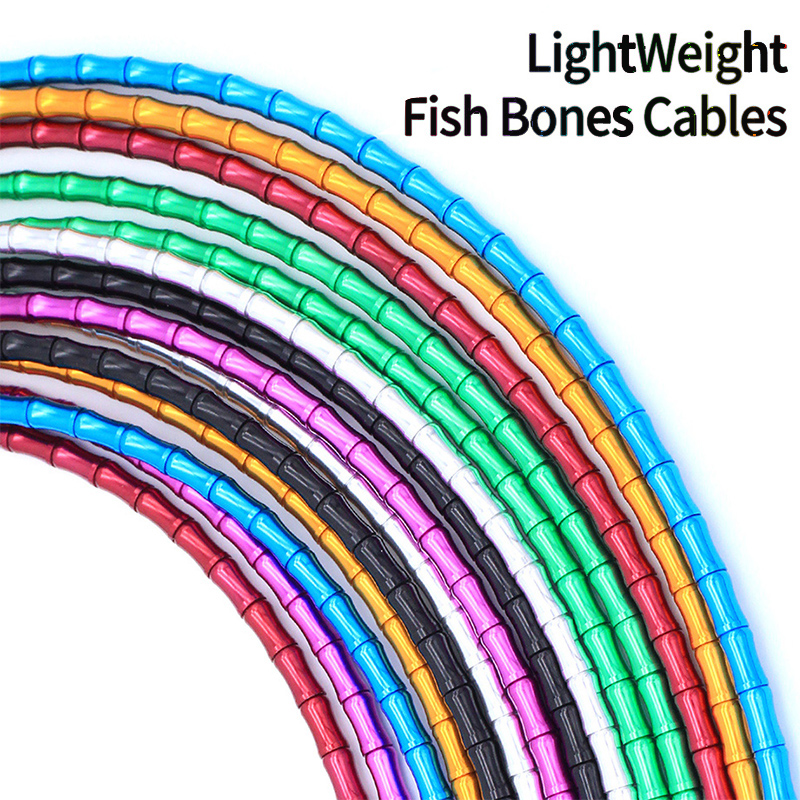 Road//MTB Bicycle Shift Cable//Housing Bicycle Brake Cable Tubing Fishbone Cable