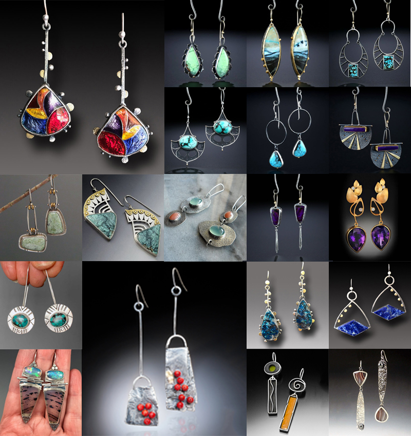 Turquoise Earrings Ear Hook Fashion Women 925 Silver Dangle Drop Wedding Jewelry