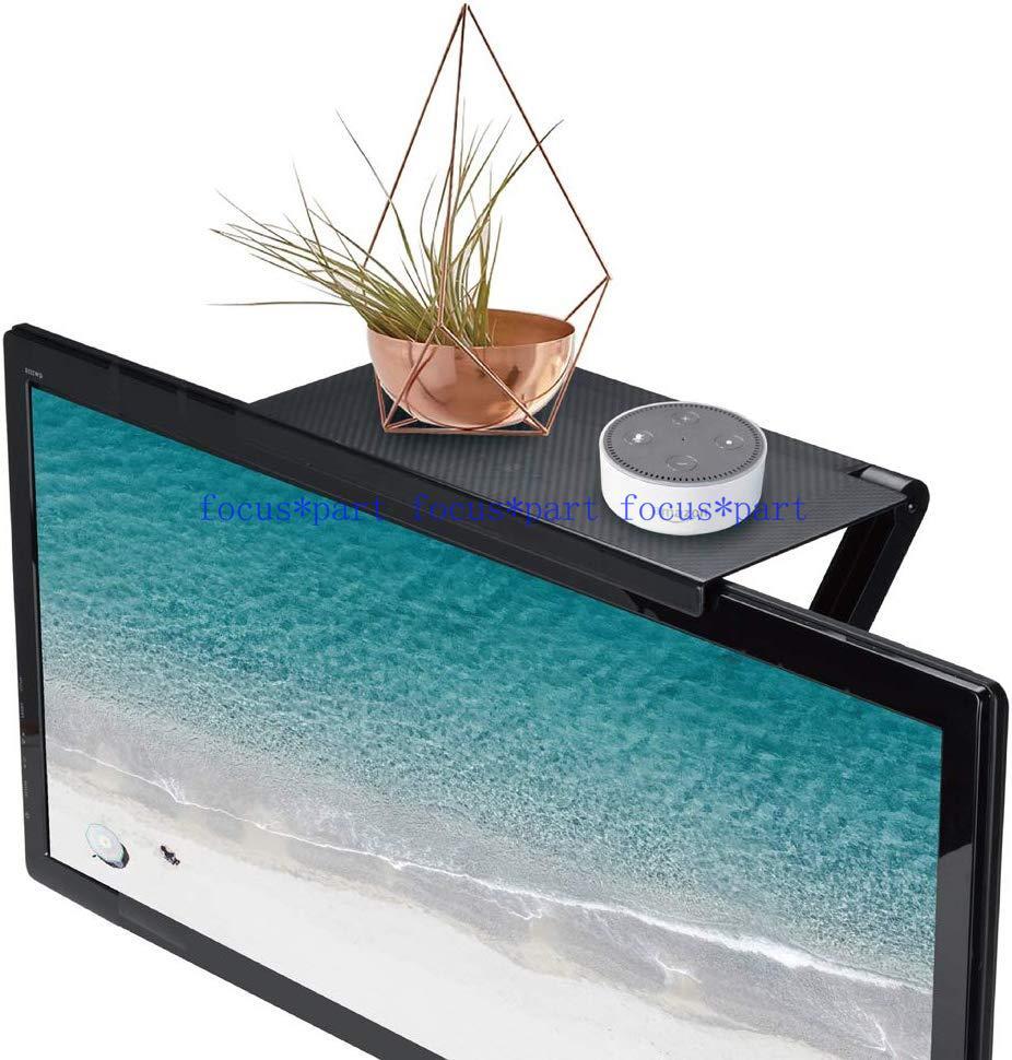 Durable TV Screen Caddy Screen Top Shelf Storage Rack Multifunction UK STOCK
