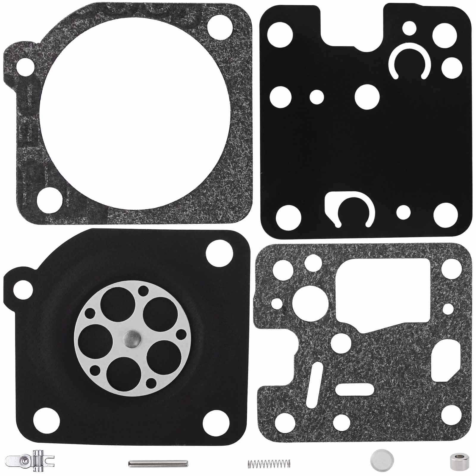 ProPart Carburetor Repair Rebuild Kit for Echo GT200 GT201 SRM200 SRM201 SRM230 SRM231 HC-160 HC-180 HC-200 ES-230 ES-231 Replaces Zama RB-107